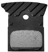Product image for Shimano L02A Disc Brake Pads, Alloy Backed with Cooling Fins