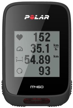 Polar M460 GPS Bike Computer with HR Heart Rate Sensor