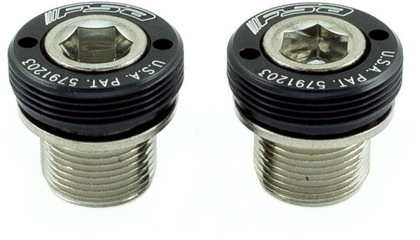 FSA Self Extracting Crank Bolts ISIS M15 Steel