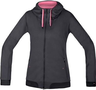 Gore Power Trail Womens Windstopper Soft Shell Hoody AW17