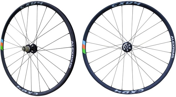 Alexrims CXD4 700c Disc TL Ready Centrelock Road Wheelset