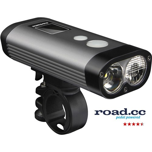 Ravemen PR1200 USB Rechargeable DuaLens Front Light with Remote
