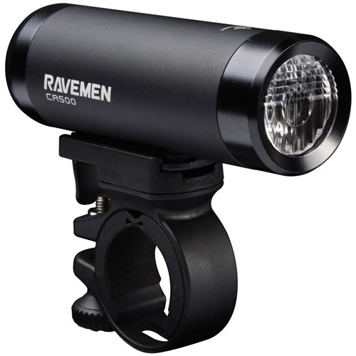 Ravemen CR500 USB Rechargeable DuaLens Front Light with Remote