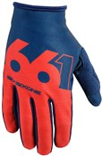 Product image for SixSixOne 661 Comp Slice Long Finger Cycling Gloves SS17