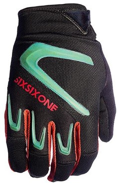 SixSixOne 661 Rage Long Finger Cycling Glove SS17