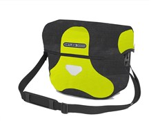 Product image for Ortlieb Ultimate 6 High Visibility Handlebar Bag With Magnetic Lid