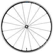 Product image for Shimano RS500 Tubeless Ready Clincher Road Wheel