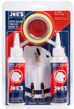 Joes No Flats Tubeless Ready Kit - Super Sealant