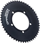 Product image for Rotor NoQ Round Carbon Chainring