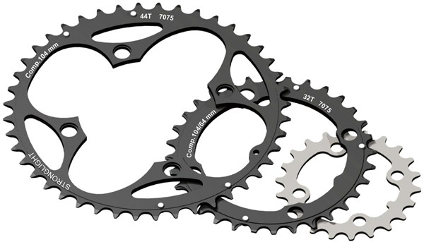 Stronglight 4-Arm/104mm Chainring 34T With Pins