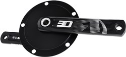 Product image for Rotor 3D24 Track Steel BCD 144 Crankset