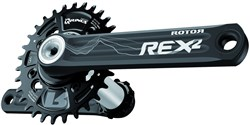 Product image for Rotor Rex 2.1 BCD 76 MTB Crankset
