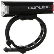 Product image for Cateye Duplex Front & Rear Helmet Light