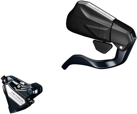 Shimano Metrea ST-U5060 Hydraulic Disc Brake, Mechanical STI Fully Bled Set