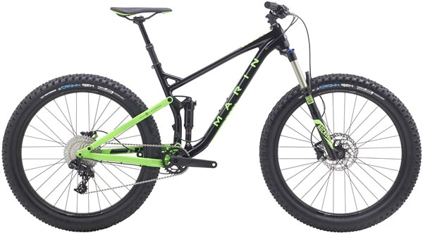 Marin B-17 1 27.5+ Mountain Bike 2018 - Trail Full Suspension MTB