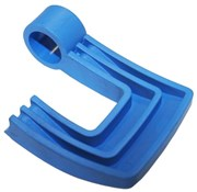Product image for Tacx Quick Release Lever (L/H Axle Clamp) Booster/Satori Blue (Plastic Lever Only)