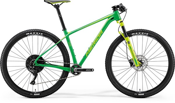 Merida Big Nine Limited 29er Mountain Bike 2018 - Hardtail MTB