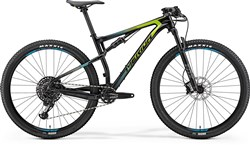 Merida Ninety-Six 9.6000 29er Mountain Bike 2018 - XC Full Suspension MTB