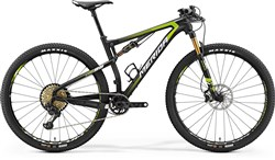 Merida Ninety-Six 9.Team 29er Mountain Bike 2018 - XC Full Suspension MTB