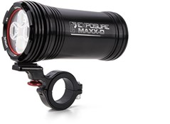 Product image for Exposure MaXx-D Mk10 Rechargeable Front Light With QR Bracket - 3200 Lumens