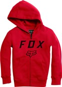 Fox Clothing Legacy Moth Youth Zip Fleece AW17
