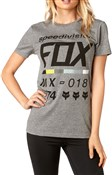 Product image for Fox Clothing Draftr Womens Short Sleeve Crew Tee AW17