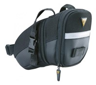 Topeak Aero Wedge Saddle Bag With Straps - Medium