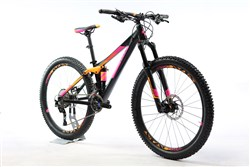 "Cube Sting WLS 120 Pro 27.5"" Womens - Nearly New - 13.5"" - 2017 Mountain Bike"