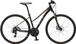 GT Transeo Comp Step-Thru Womens 2018 - Hybrid Sports Bike