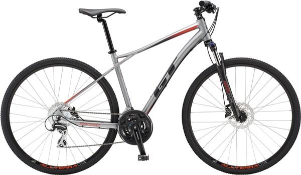 Buy Gt Transeo Elite 2018 Hybrid Sports Bike At Tredz Bikes