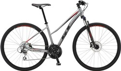 GT Transeo Elite Step-Thru Womens 2018 - Hybrid Sports Bike