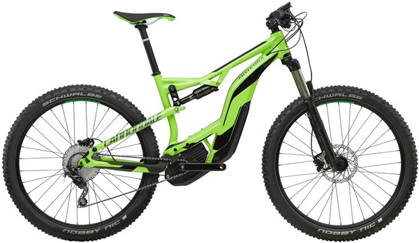 Cannondale Moterra 3 27.5+ 2018 - Electric Mountain Bike