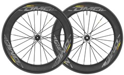 Product image for Mavic Comete Pro Carbon SL Tubular Disc Road Wheels 2018