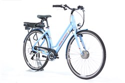 Raleigh Array E-Motion Low Step 700c Womens - Nearly New - M - 2017 Electric Bike