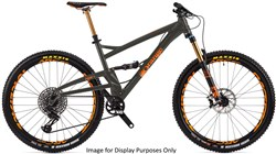 "Orange Four Factory 27.5""  Mountain Bike 2018 - Trail Full Suspension MTB"