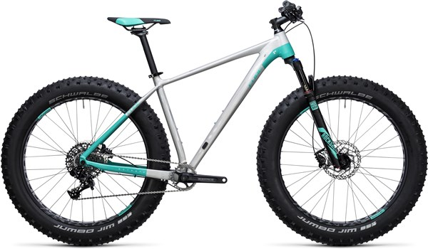 Cube Nutrail Pro Mountain Bike 2018 - Fat bike