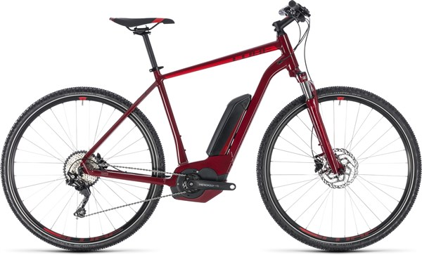 Cube Cross Hybrid Pro 500 2018 - Electric Hybrid Bike