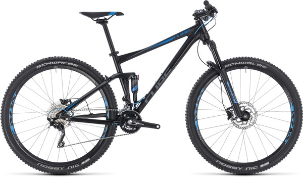 "Cube Stereo 120 27.5"" Mountain Bike 2018 - Trail Full Suspension MTB"