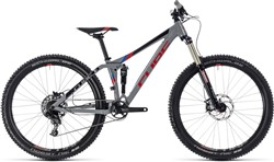 "Cube Stereo 140 27.5"" Youth Mountain Bike 2018 - Trail Full Suspension MTB"