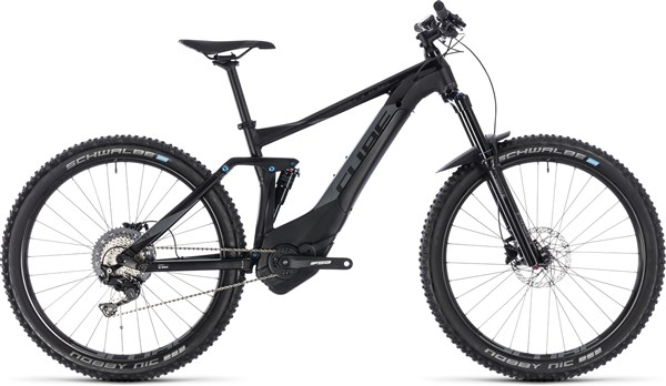 "Cube Stereo Hybrid 140 Pro 500 27.5"" 2018 - Electric Trail Mountain Bike"