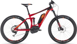"Product image for Cube Stereo Hybrid 140 Race 500 27.5"" 2018 - Electric Trail Mountain Bike"