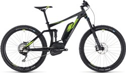 "Cube Stereo Hybrid 140 Race 500 27.5"" 2018 - Electric Mountain Bike"