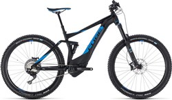 "Cube Stereo Hybrid 140 SL 500 27.5"" 2018 - Electric Trail Mountain Bike"