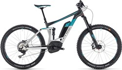 "Product image for Cube Stereo Hybrid 160 Race 500 27.5"" 2018 - Electric Enduro Mountain Bike"