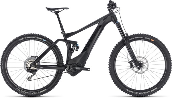 "Cube Stereo Hybrid 160 SL 500 27.5"" 2018 - Electric Mountain Bike"