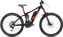 "Cube Sting Hybrid 140 Race 500 27.5"" Womens 2018 - Electric Trail Mountain Bike"