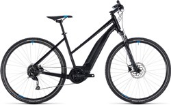 Cube Cross Hybrid One 400 Trapeze Womens 2018 - Electric Hybrid Bike