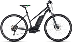 Cube Cross Hybrid Pro 400 Trapeze Womens 2018 - Electric Hybrid Bike