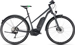 Product image for Cube Cross Hybrid Pro Allroad 400 Trapeze Womens 2018 - Electric Hybrid Bike