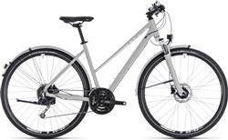 Product image for Cube Nature Pro Allroad Trapeze Womens 2018 - Hybrid Sports Bike